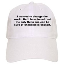 Funny Huxley quote Baseball Cap