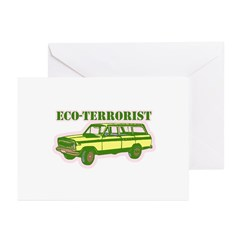 Earth Day T-shirts Greeting Cards (Pk of 20)