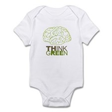 The future is green Infant Bodysuit