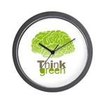 Think Green Wall Clock