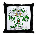 Granada Family Crest Throw Pillow