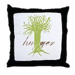 Tree Hugger Shirt Throw Pillow