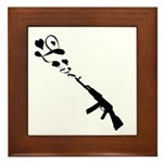 Love Gun Framed Tile