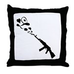 Love Gun Throw Pillow