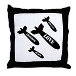 Love Bombs Throw Pillow