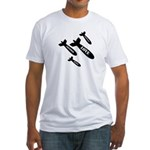 Love Bombs Fitted T-Shirt