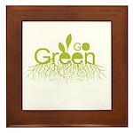 Earth Day T-shirts Framed Tile