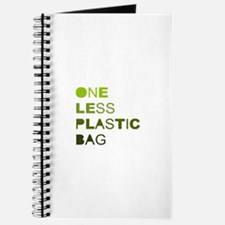 One less plastic bag Journal