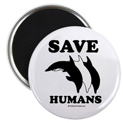 Save the Humans Magnet