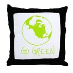 Earth Day T-shirts Throw Pillow
