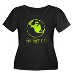 Earth Day T-shirts Women's Plus Size Scoop Neck Da