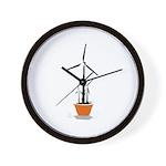 Wind Flower Wall Clock