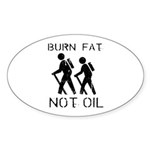 Earth Day T-shirts Oval Sticker (10 pk)