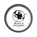 Earth Day T-shirts Wall Clock