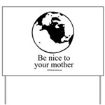 Earth Day T-shirts Yard Sign