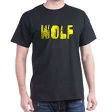 Wolf Faded (Gold) T-Shirt