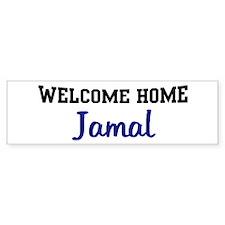 Welcome Home Jamal Bumper Bumper Sticker