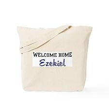 Welcome Home Ezekiel Tote Bag