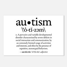 Autism Defined (1) Postcards (Package of 8)