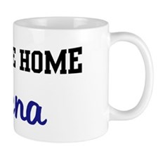 Welcome Home Serena Mug
