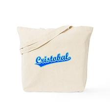 Retro Cristobal (Blue) Tote Bag