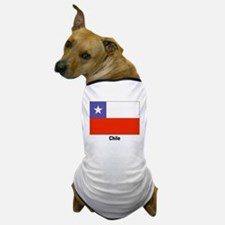 Chile Chilean Flag Dog T-Shirt