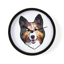 I Heart Shelties dog Lover Wall Clock