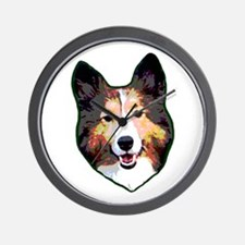 I Heart Shelties dog Lover Wall Clock
