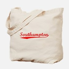 Vintage Southampton (Red) Tote Bag