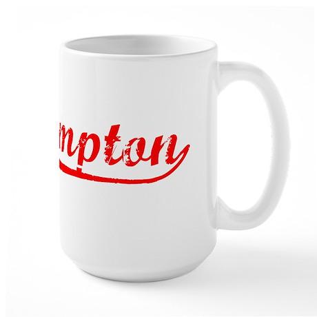 Vintage Southampton (Red) Large Mug