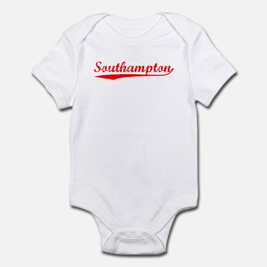 Vintage Southampton (Red) Infant Bodysuit