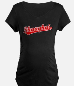 Retro Shanghai (Red) T-Shirt