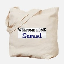 Welcome Home Samuel Tote Bag