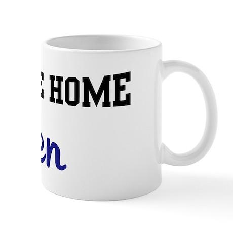 Welcome Home Ellen Mug