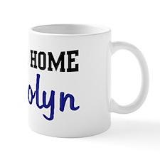 Welcome Home Gwendolyn Mug