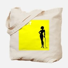 i HOT (yellow) Tote Bag