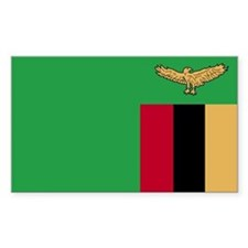 Zambia Rectangle Decal