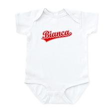 Retro Bianca (Red) Infant Bodysuit