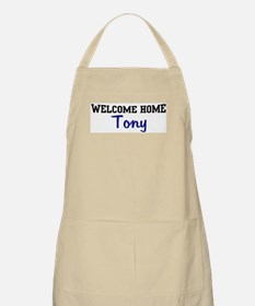 Welcome Home Tony BBQ Apron