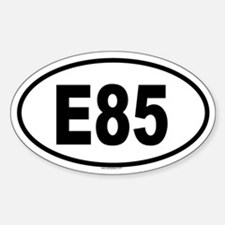 E85 Oval Decal