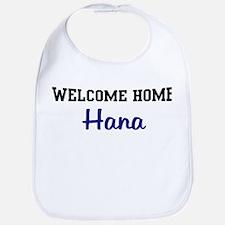 Welcome Home Hana Bib