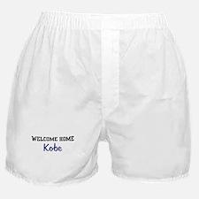 Welcome Home Kobe Boxer Shorts