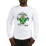 Gutierrez Family Crest Long Sleeve T-Shirt