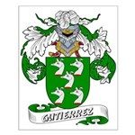 Gutierrez Family Crest Small Poster