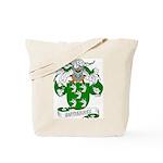 Gutierrez Family Crest Tote Bag