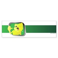 Green Division Design Bumper Bumper Sticker