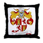 Henriquez Family Crest Throw Pillow