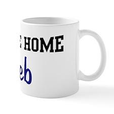Welcome Home Kaleb Mug