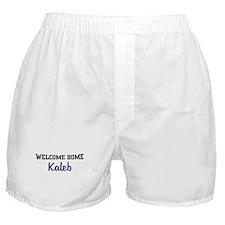 Welcome Home Kaleb Boxer Shorts