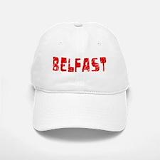 Belfast Faded (Red) Baseball Baseball Cap